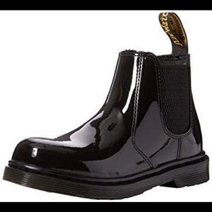 Doc Martens Patent Leather Chelsea Boots